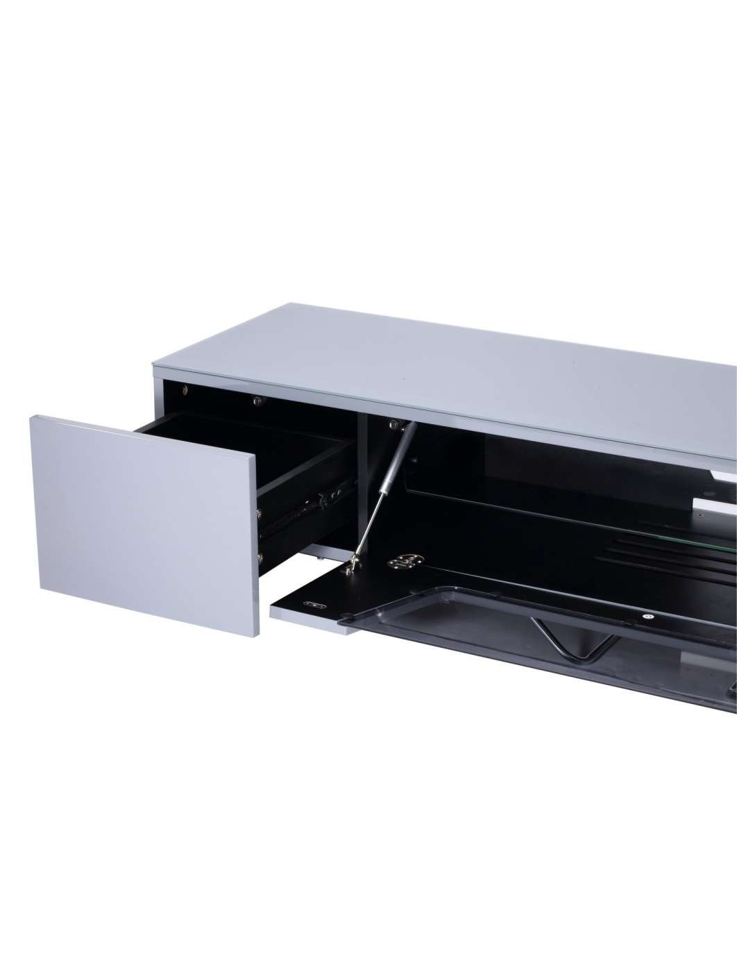 Alphason Chromium Cantilever Tv Stand Cro2 1600Bkt Gr | 121 Tv Mounts In Alphason Tv Cabinets (View 5 of 20)