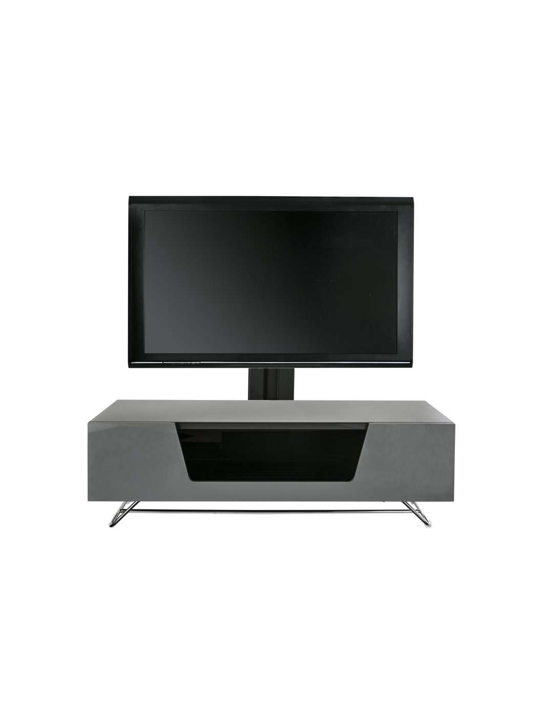 Alphason Chromium Tv Stand Cro2 1200Cb Gry | 121 Tv Mounts Intended For Alphason Tv Cabinets (View 8 of 20)