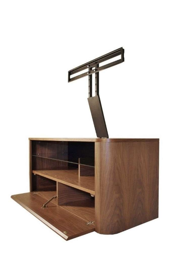 Alphason Hugo Tv Stand Adh1260 Wal Walnut With Bracket | 121 Tv Mounts In Alphason Tv Cabinets (View 17 of 20)