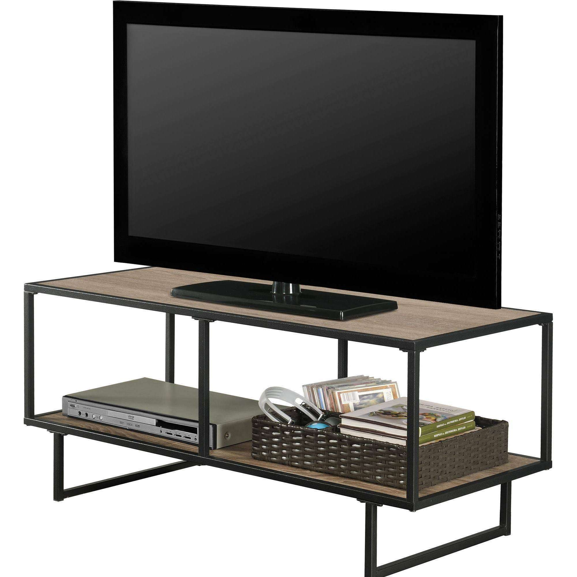 Altra Furniture Emmett 1 Shelf Tv Stand Coffee Table In Sonoma Oak In Most Recent Tv Stand Coffee Table Sets (View 3 of 20)