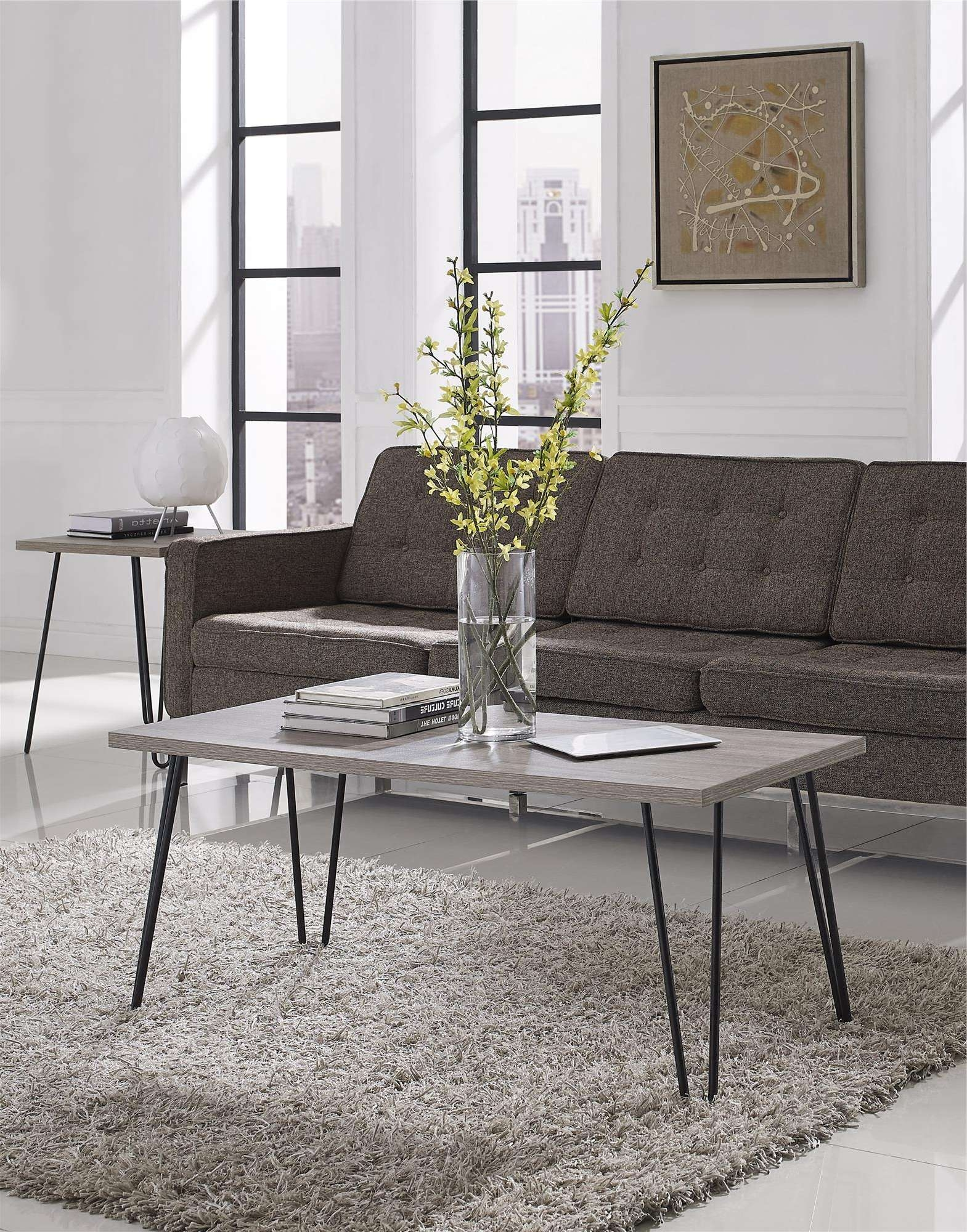 Altra Furniture Owen Retro Coffee Table Inside Most Recently Released Retro Oak Coffee Tables (Gallery 3 of 20)