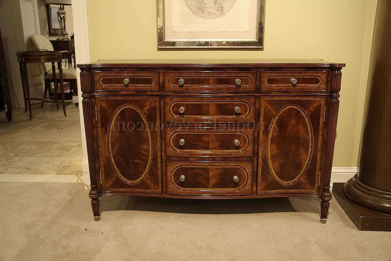 Amazing Antique Dining Room Sideboard Small Antique Mahogany Within Small Dining Room Sideboards (View 2 of 20)