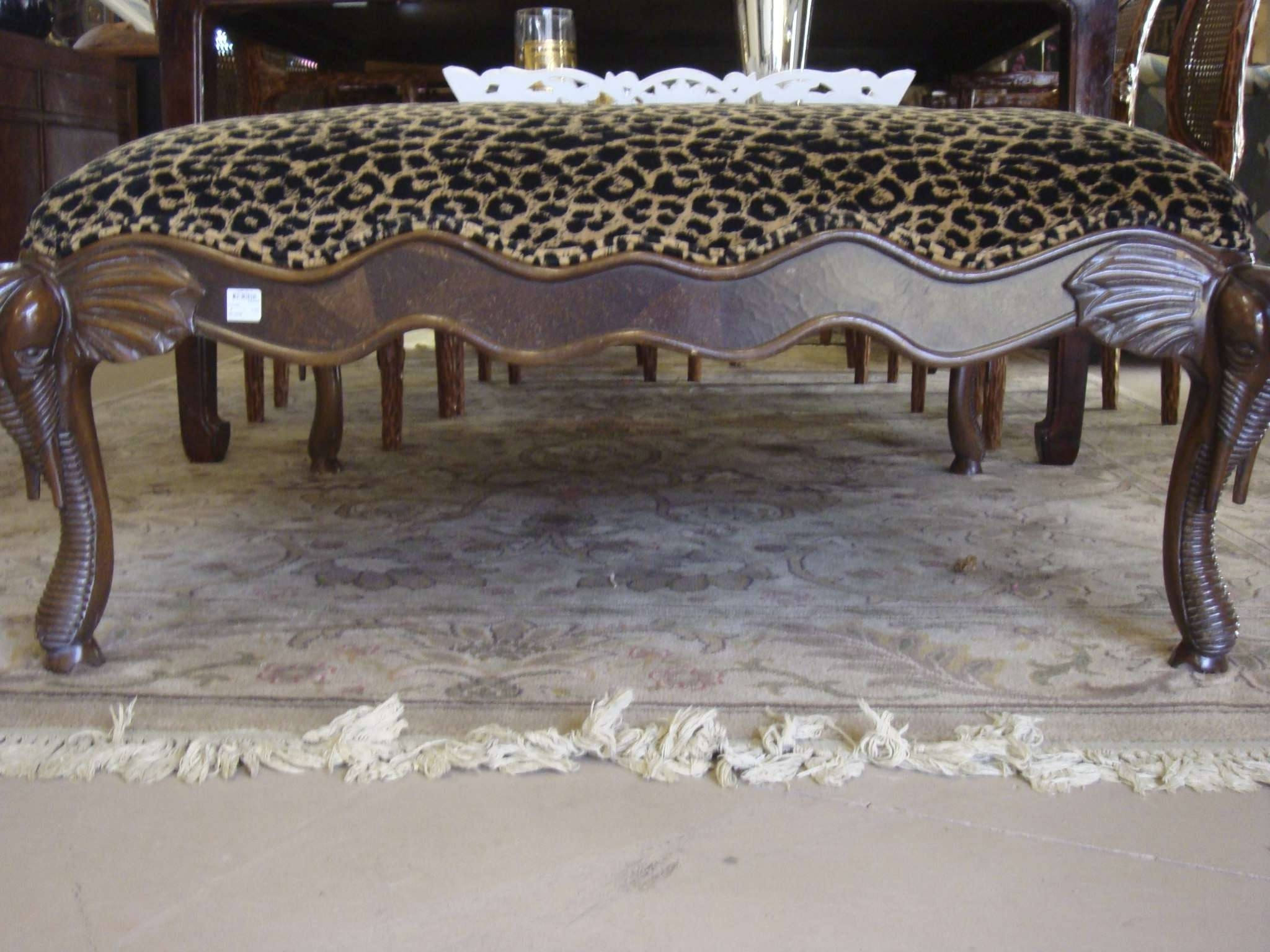Amazing Leopard Ottoman Coffee Table – Mediasupload With Most Recently Released Leopard Ottoman Coffee Tables (View 2 of 20)