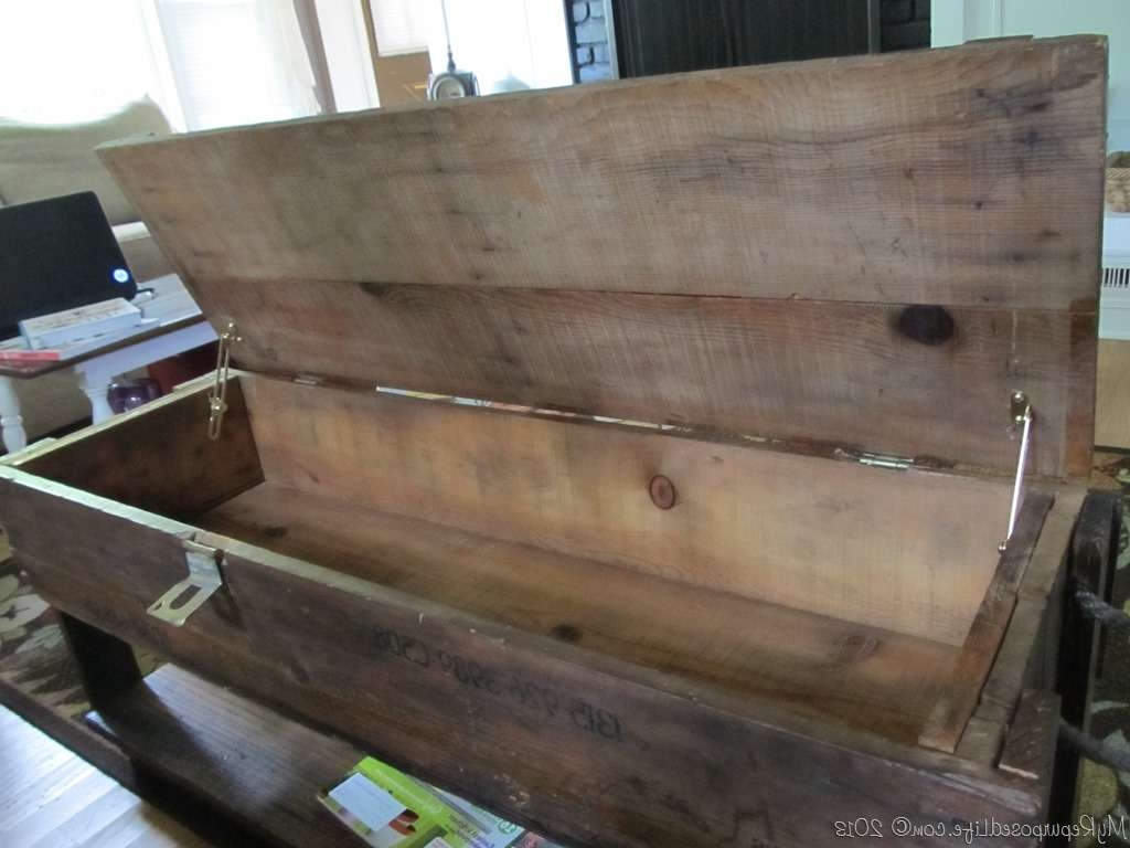 Ammo Box Coffee Table – My Repurposed Life® In Most Popular Coffee Tables With Box Storage (View 3 of 20)