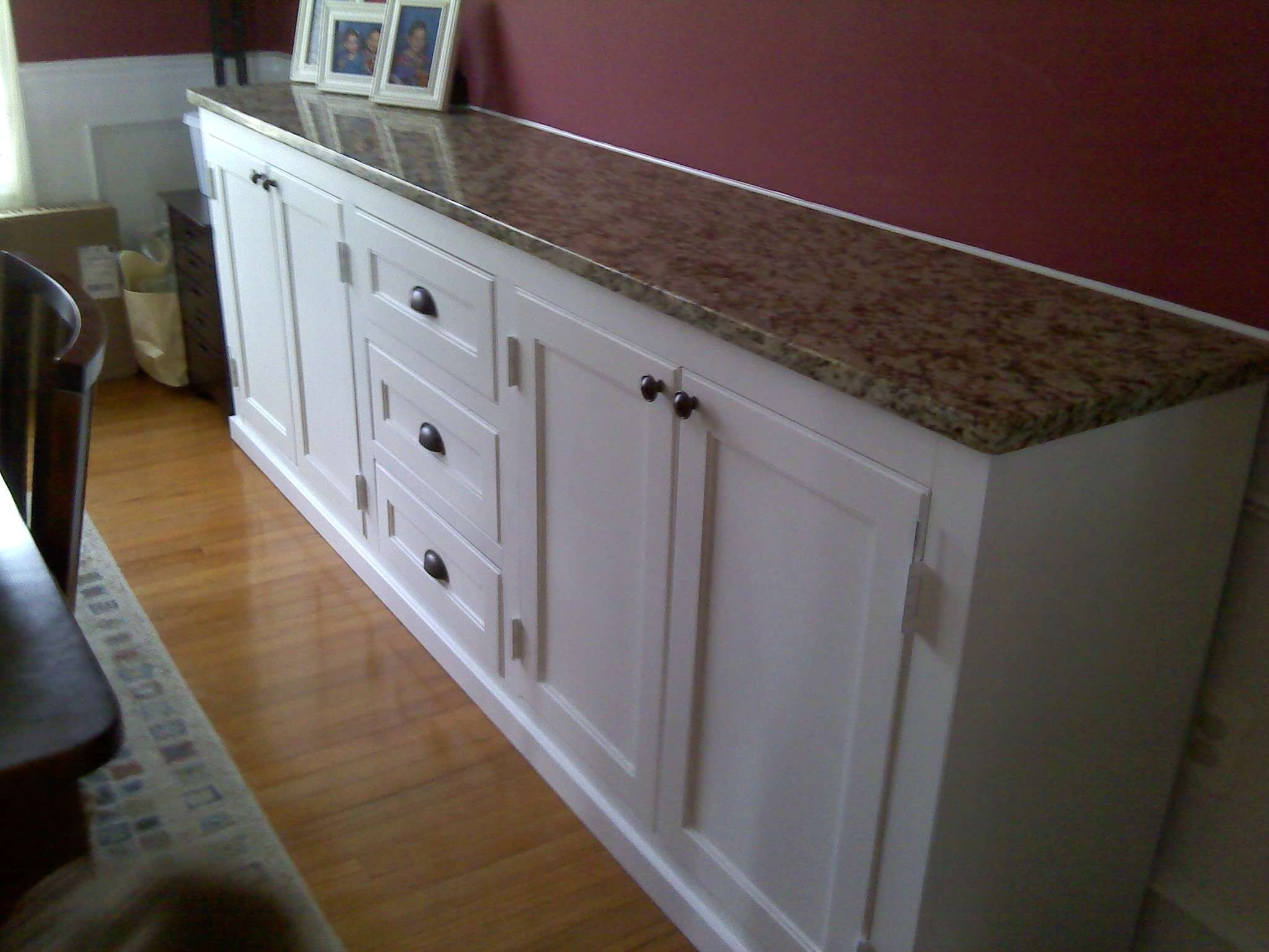 Ana White | Dining Room Buffet Cabinet – Diy Projects In White Sideboards Cabinets (View 4 of 20)