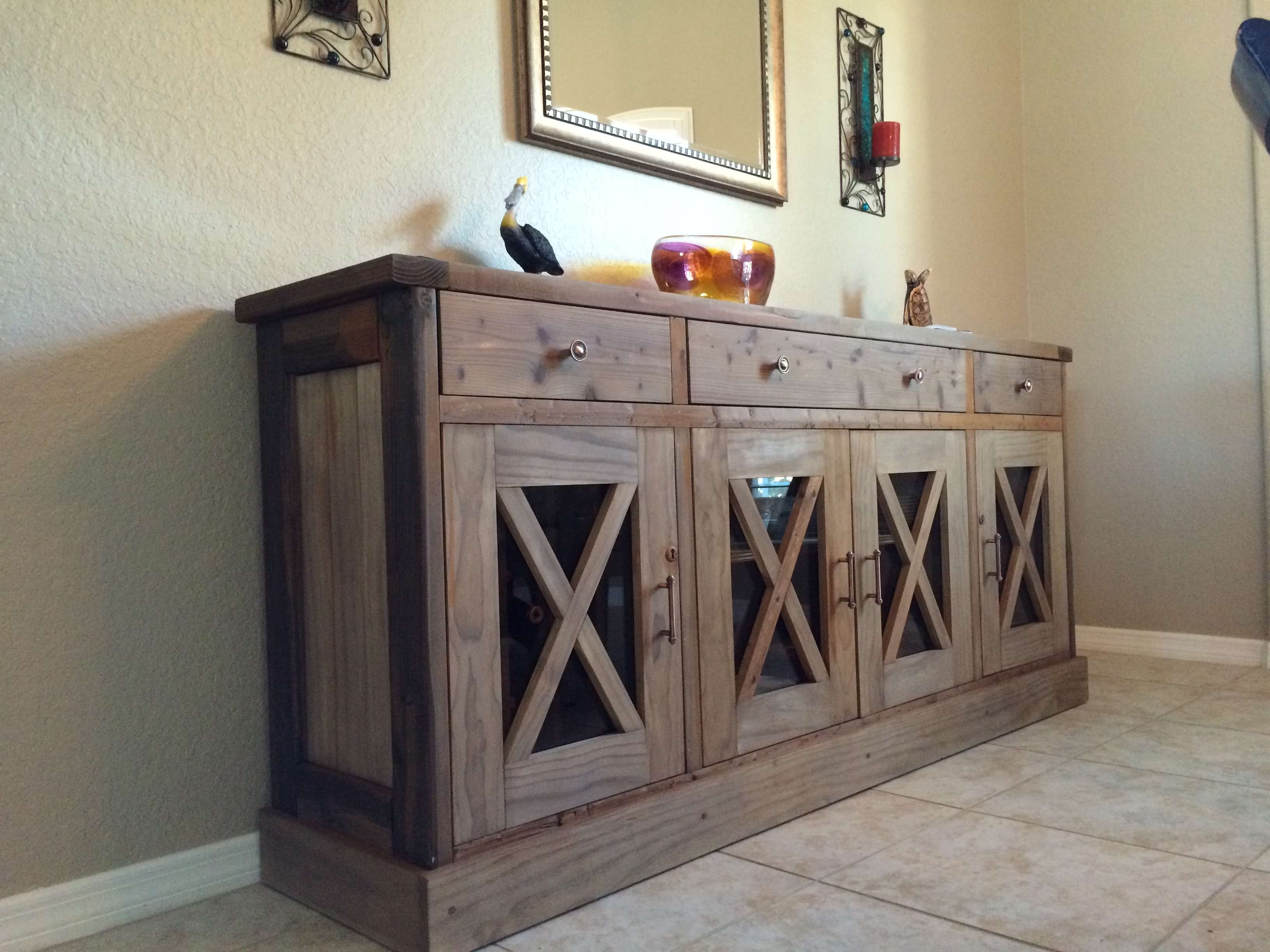 Ana White | Dining Room Sideboard – Diy Projects In White Sideboards Tables (View 20 of 20)