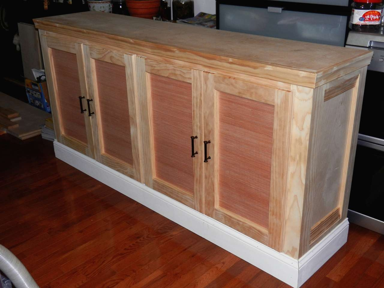 Ana White | Shanty Sideboard And Hutch – First Build – Diy Projects Throughout Unfinished Sideboards (View 16 of 20)