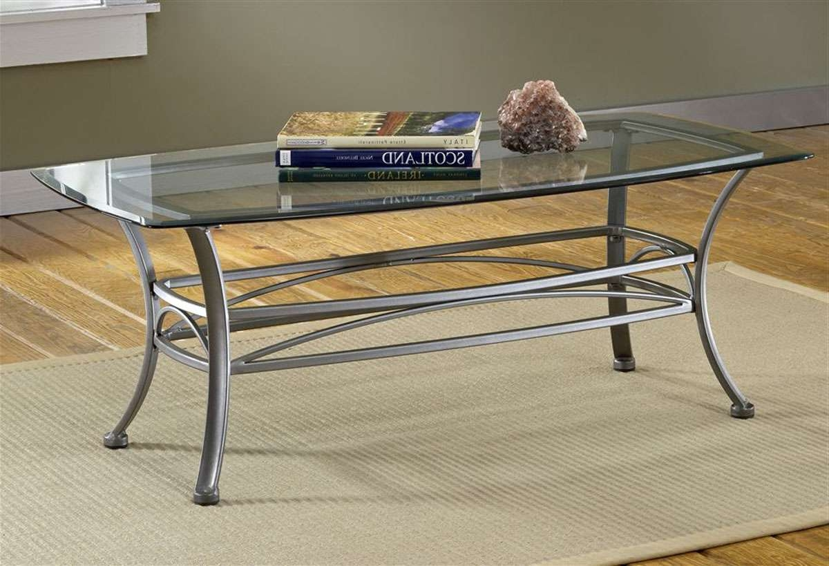 And Metal Coffee Table Best Throughout Well Liked Glass Metal Coffee Tables (View 2 of 20)