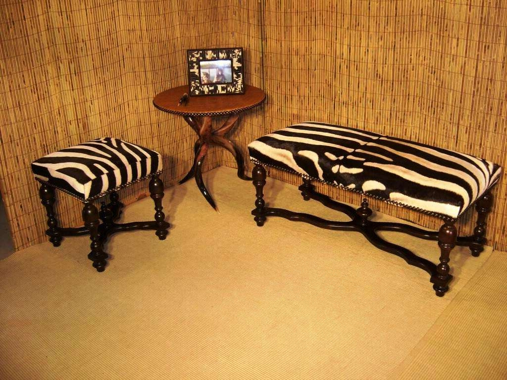 Animal Print Ottoman Coffee Table : Buying Zebra Ottoman Ottomans With Regard To Newest Animal Print Ottoman Coffee Tables (View 1 of 20)