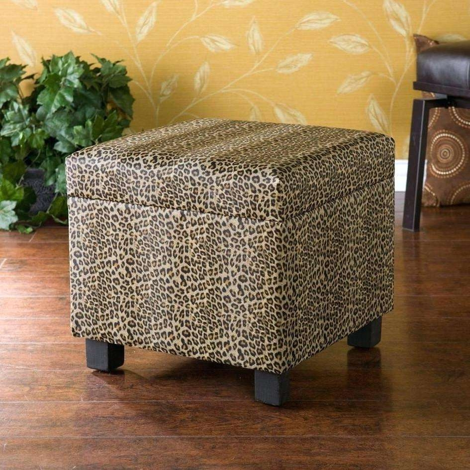 Animal Print Ottoman Leopard Print Ottoman Coffee Table Coffee With Regard To Widely Used Animal Print Ottoman Coffee Tables (View 4 of 20)