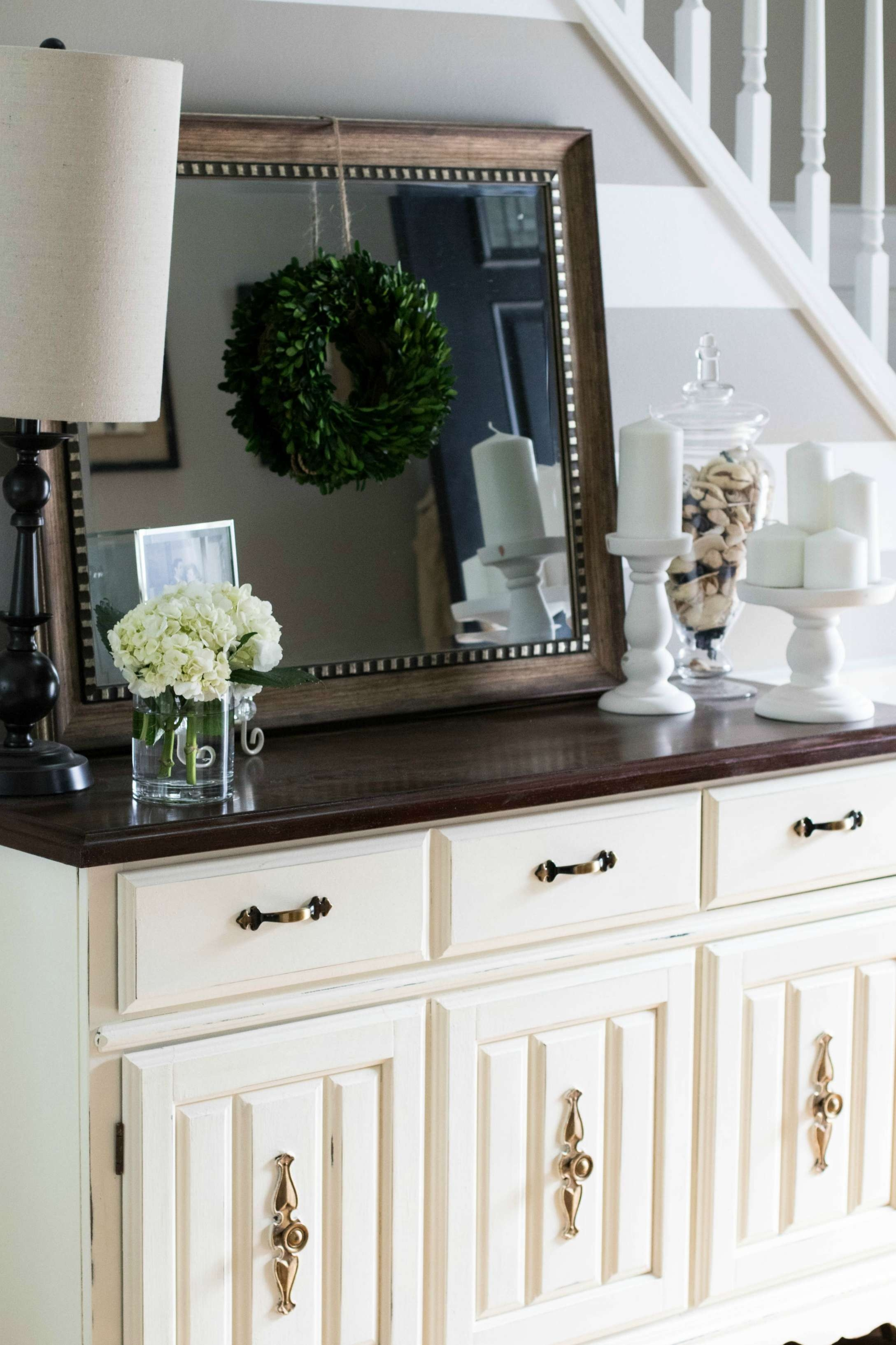 Annie Sloan Chalk Paint: Buffet Makeover | Coffee Beans And Bobby Pins Within Chalk Painted Sideboards (View 4 of 20)