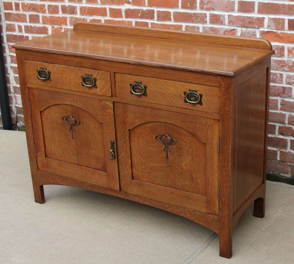 Antique Buffet Sideboard Dresser — New Decoration Pertaining To Buffet Sideboards Servers (View 14 of 20)