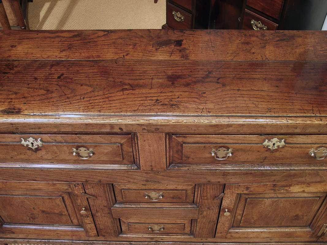 Antique Dresser Base, Antique Sideboard, Oak Dresser Base, Oak Intended For Antique Oak Sideboards (View 4 of 20)