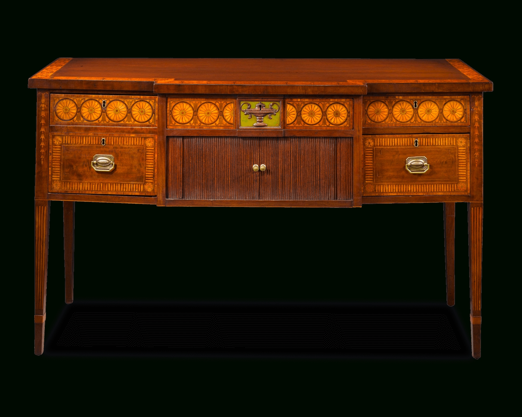 Antique Furniture, Antique Sideboard, Hepplewhite Style | M.s (View 6 of 20)