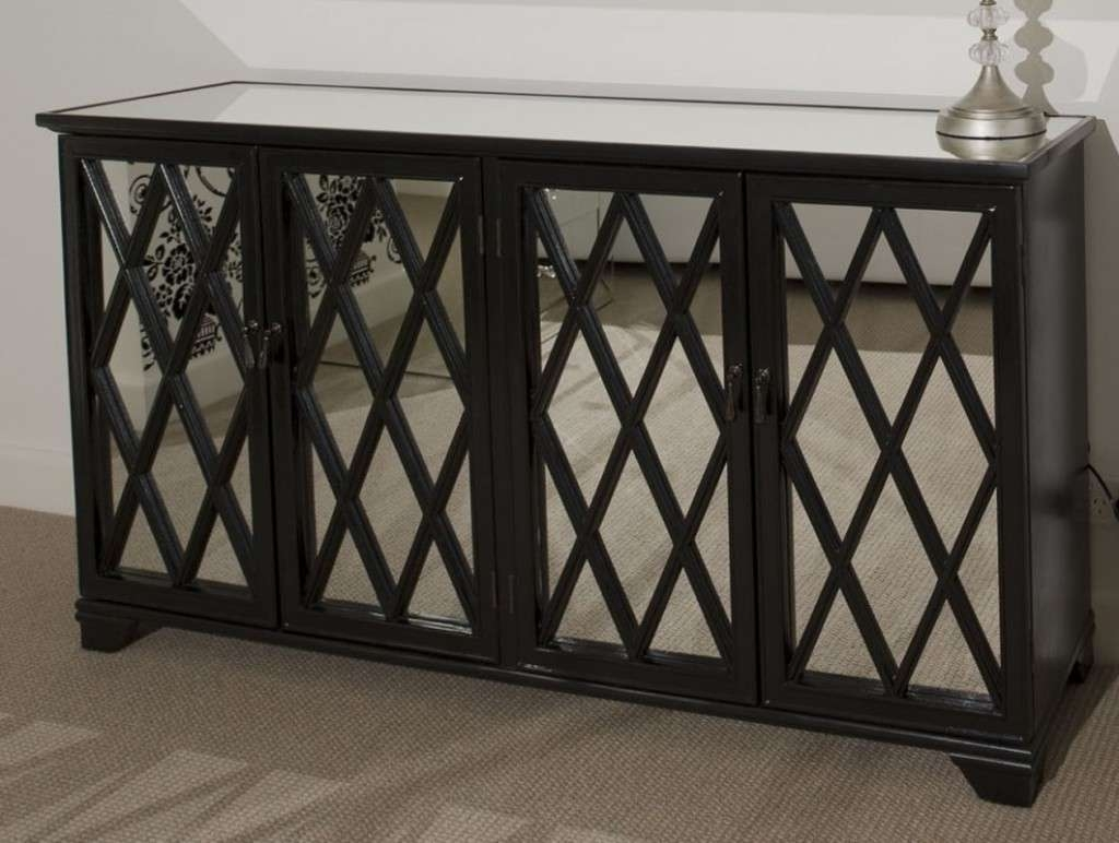 Antique Mirrored Buffet — New Home Design : Mirrored Buffet For Regarding Mirrored Buffet Sideboards (View 2 of 20)