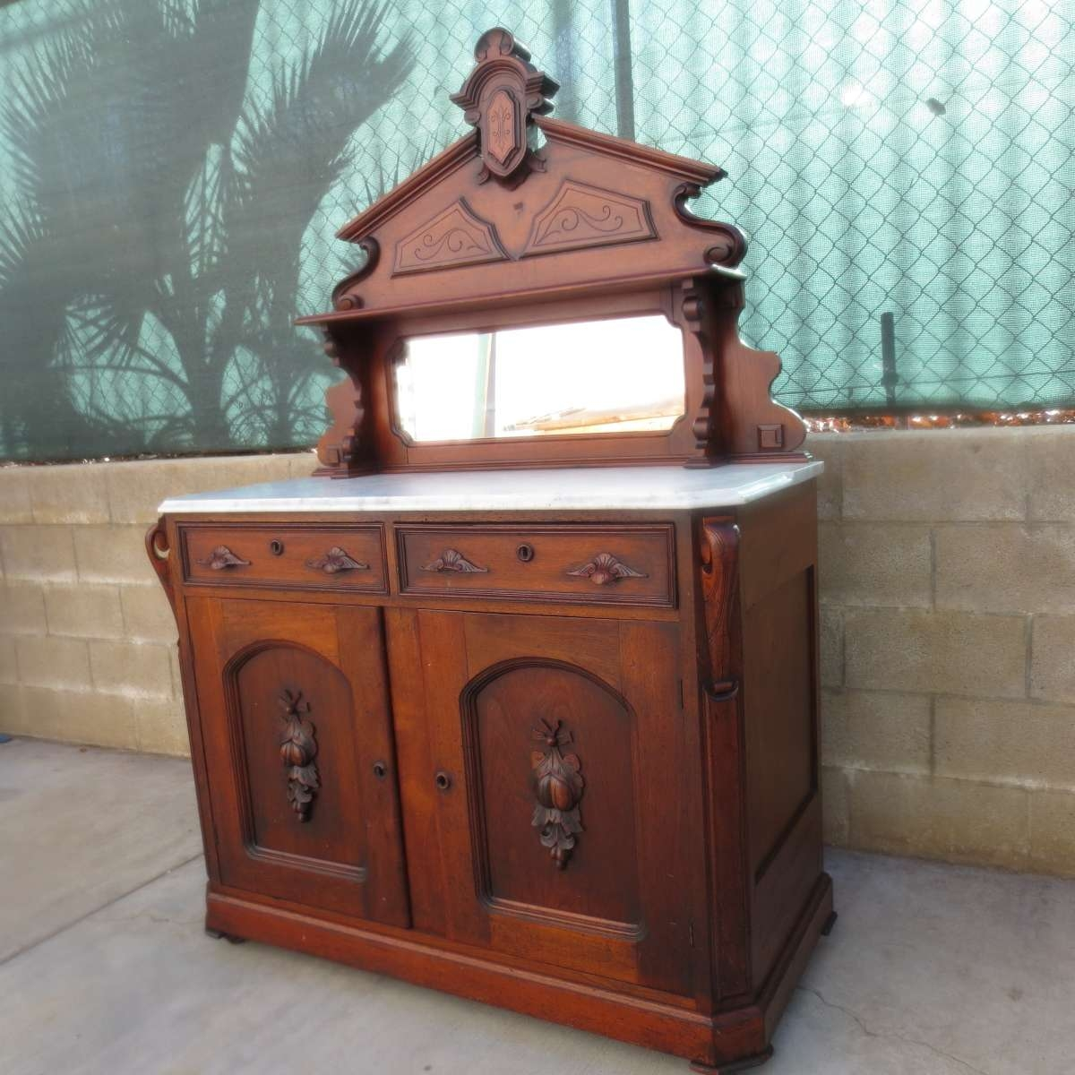 Antique Sideboards And Buffets Mirror — All Furniture : Antique With Regard To Jacobean Sideboards Buffets (View 15 of 20)