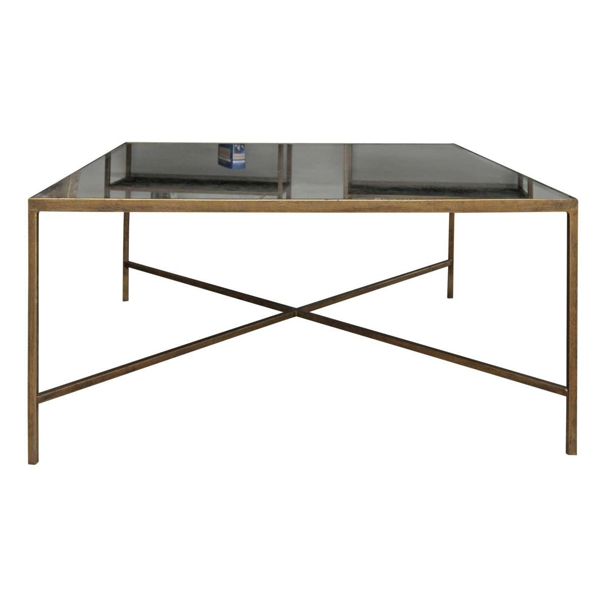 Antiqued Mirrored Coffee Table / Coffee Tables / Thippo In Trendy Antique Mirrored Coffee Tables (View 3 of 20)