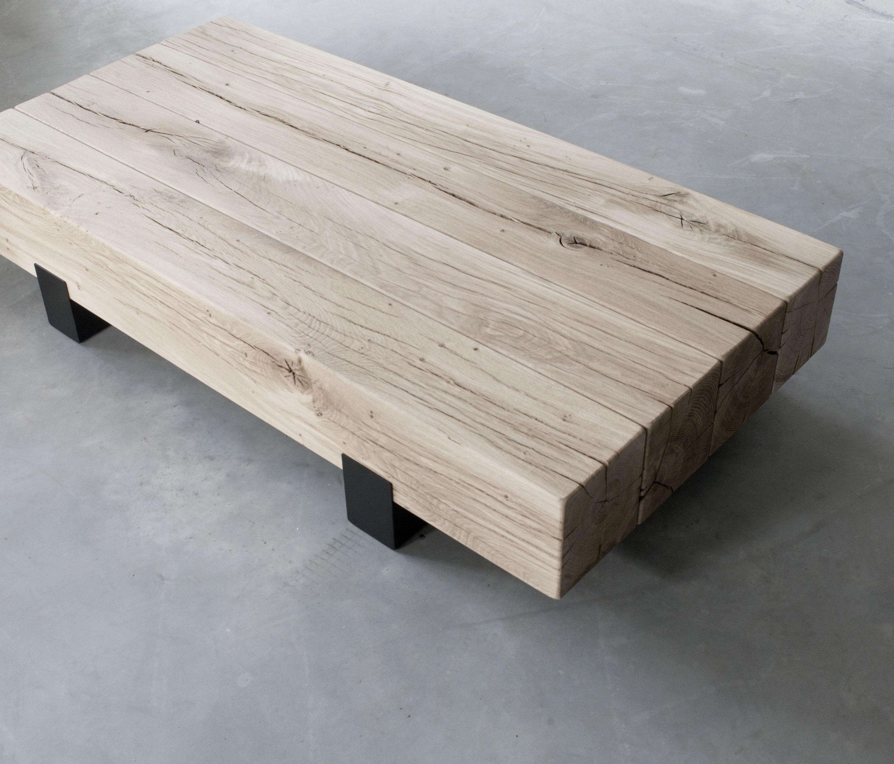 Featured Photo of Solid Oak Beam Coffee Table
