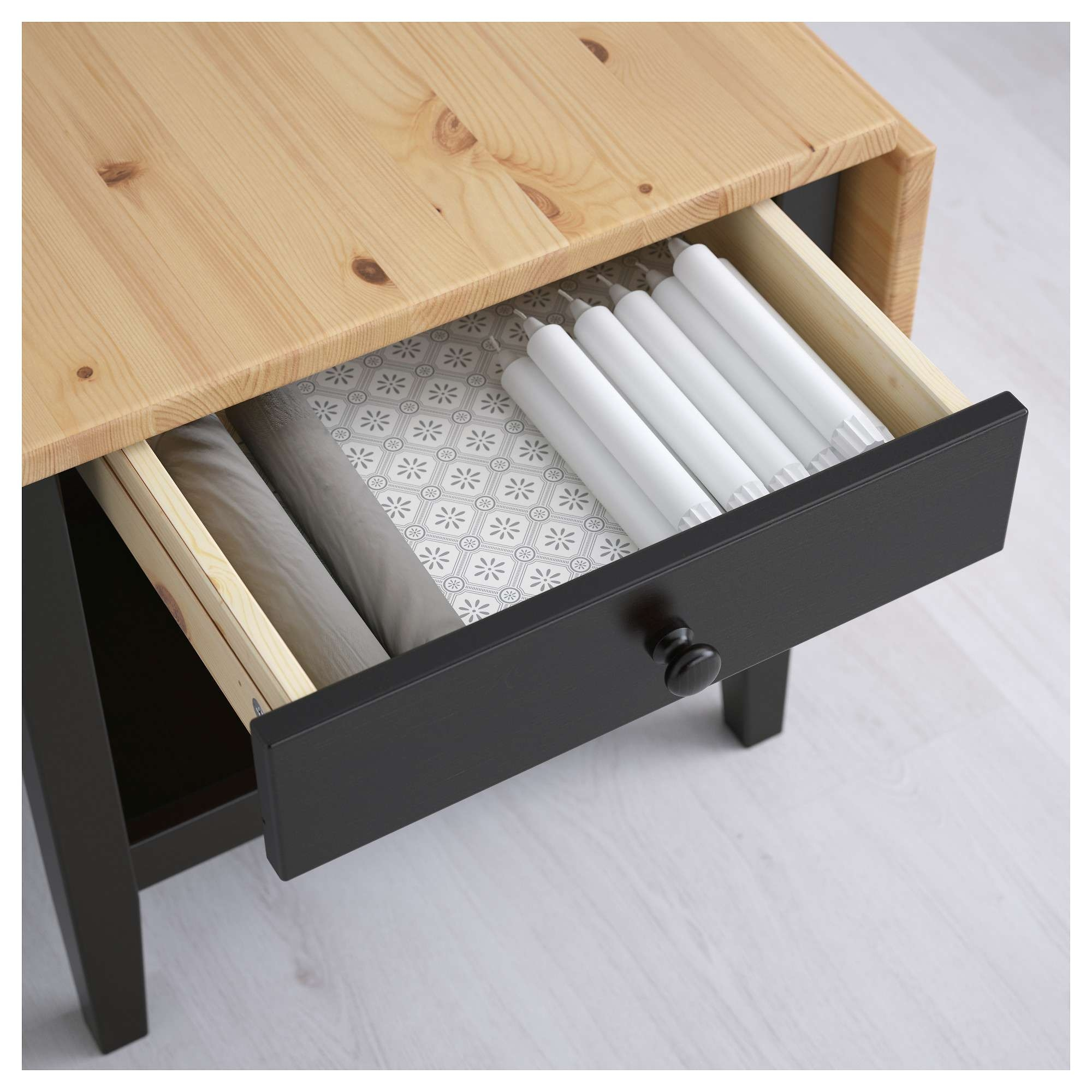 Arkelstorp Coffee Table Black 65X140X52 Cm – Ikea Within Most Up To Date Coffee Tables Solid Wood (View 2 of 20)