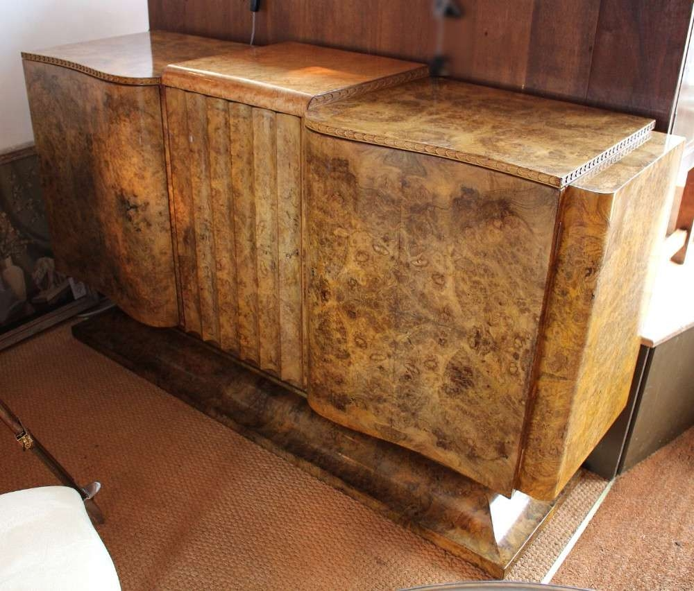 Art Deco Sideboard | 266297 | Sellingantiques.co (View 3 of 20)