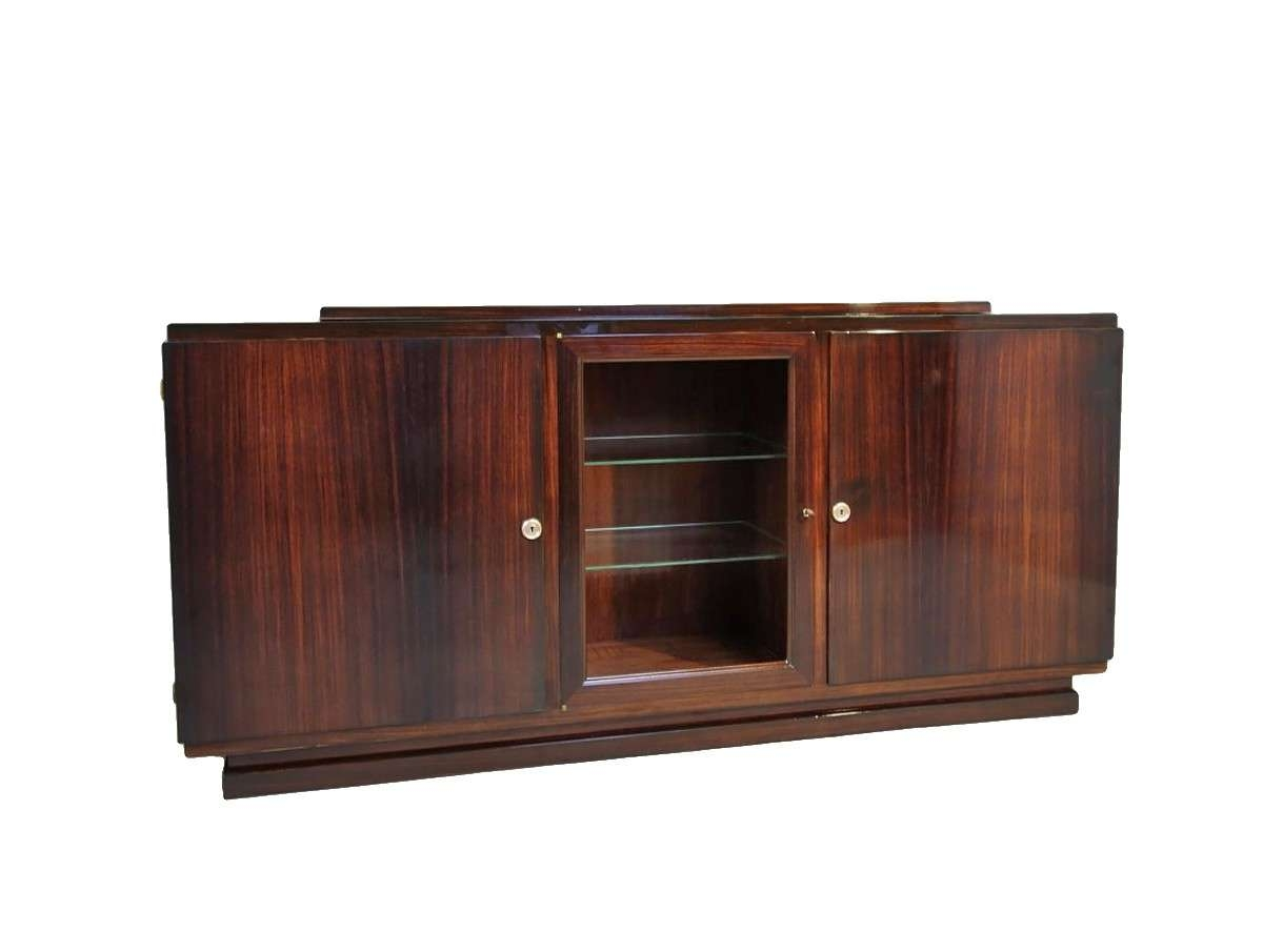 """Art Deco Sideboard Attribuated To """"krass"""" – Ref (View 12 of 20)"""