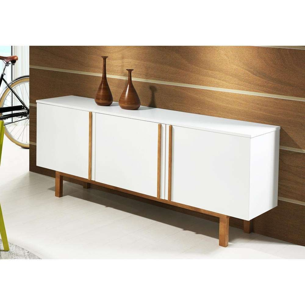 Artefama Furniture Vitra White Buffet 5932 – The Home Depot Throughout White Buffet Sideboards (View 2 of 20)