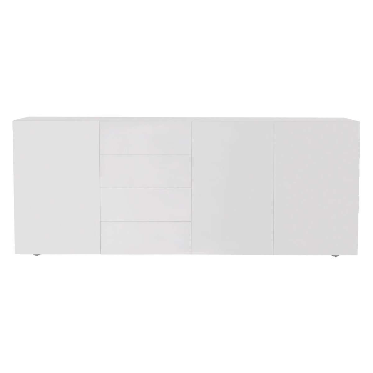 Aspen White High Gloss Sideboard | Buy Now At Habitat Uk Within White High Gloss Sideboards (View 3 of 20)