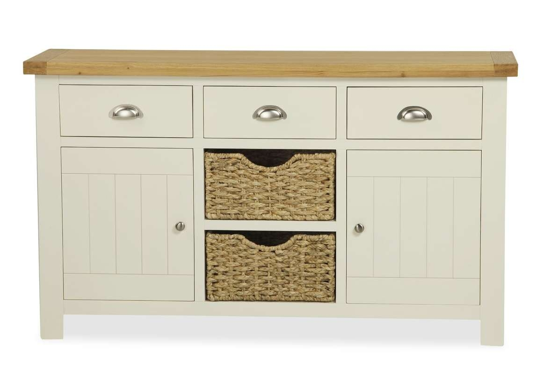 August Grove Lorrain 2 Door 3 Drawer Sideboard & Reviews | Wayfair For 2 Door Sideboards (View 1 of 20)