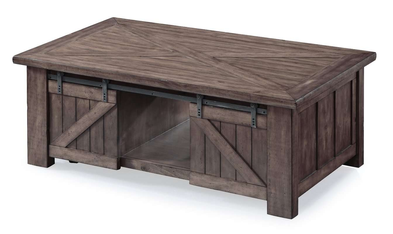 August Grove Waycross Lift Top Coffee Table & Reviews (View 1 of 20)