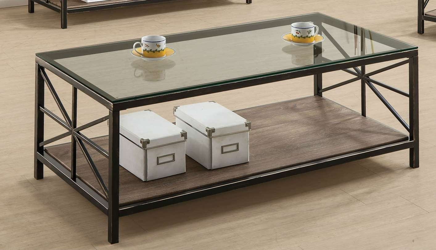 Avondale Black Glass Coffee Table – Steal A Sofa Furniture Outlet Intended For Most Current Black Glass Coffee Tables (Gallery 5 of 20)