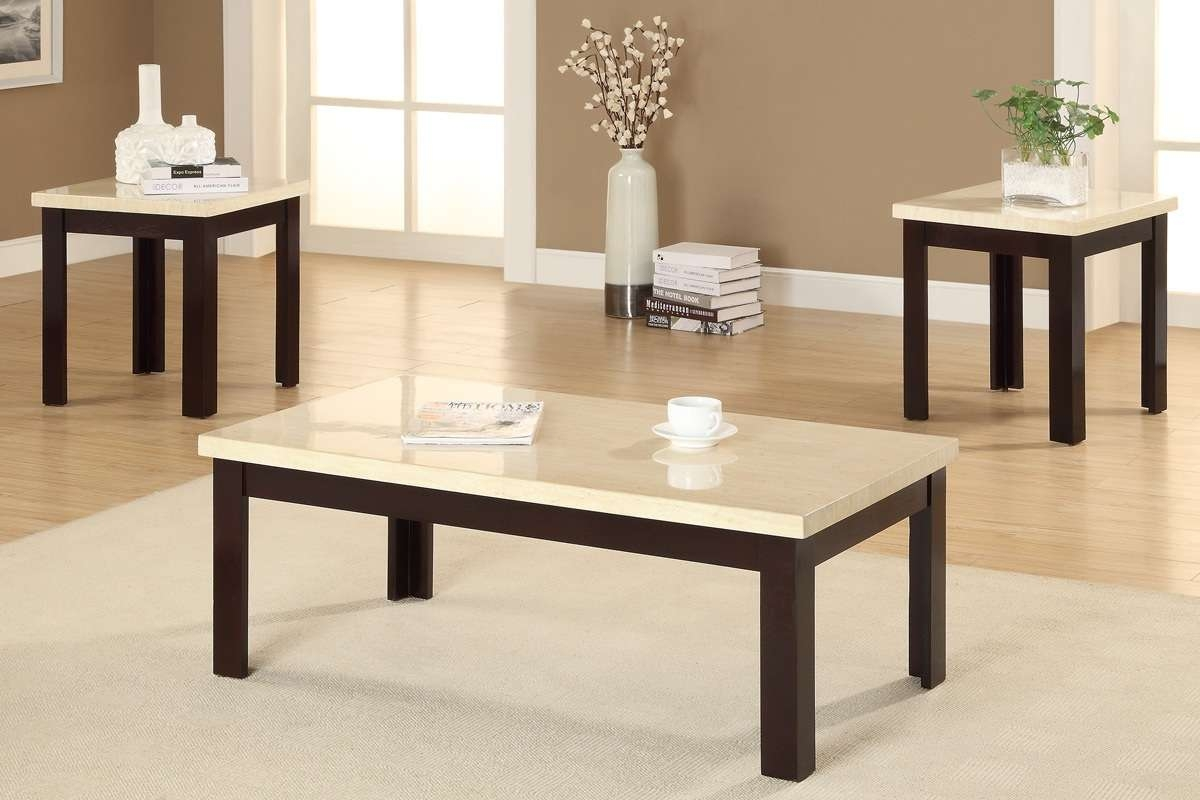 Awesome 10 Decoration 2016 Coffee Table And Side Table Set Intended For Most Popular Coffee Tables And Side Table Sets (View 1 of 20)