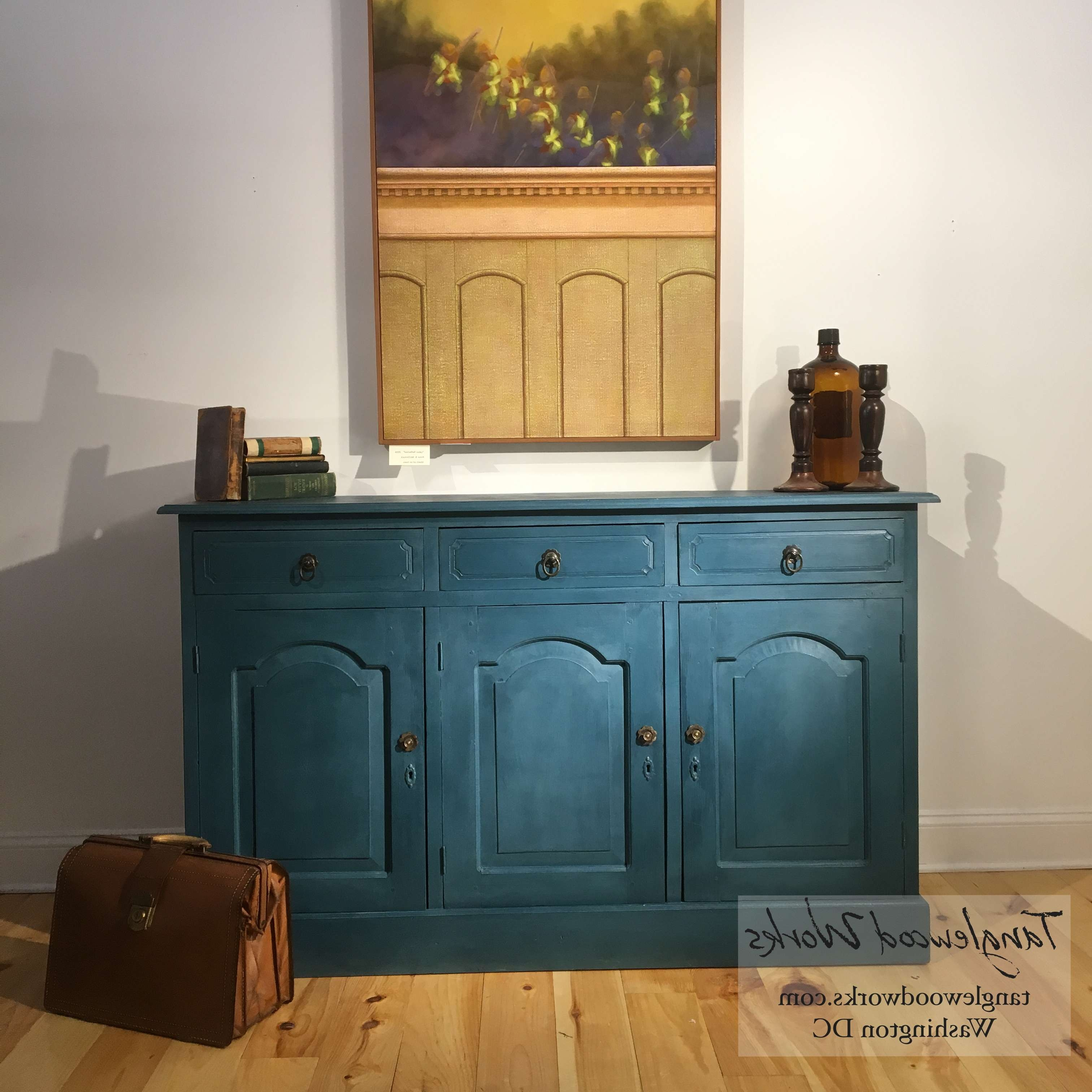 Awesome Blue Sideboard Buffet – Bjdgjy Inside Credenza Buffet Sideboards (View 3 of 20)