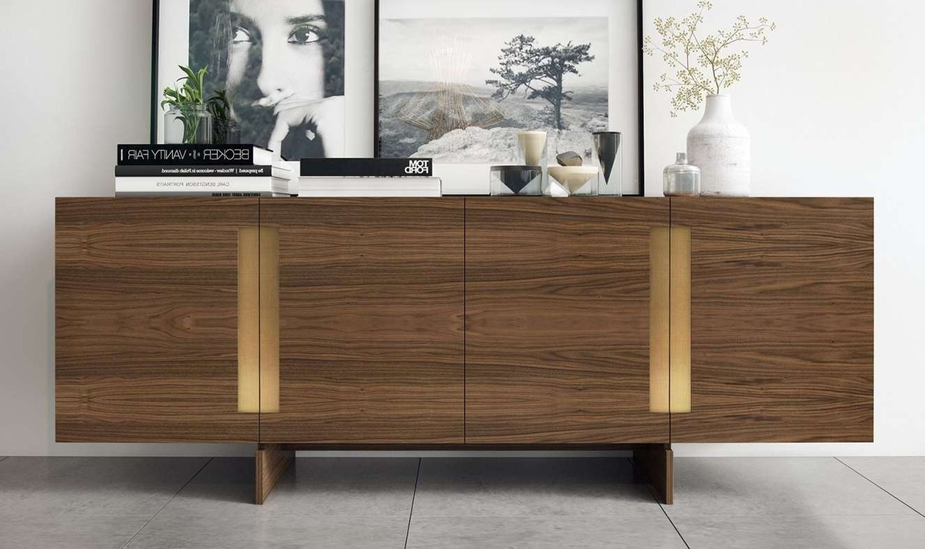 Awesome Buffets And Sideboards Glass Tags : Contemporary Regarding Contemporary Sideboards (View 11 of 20)