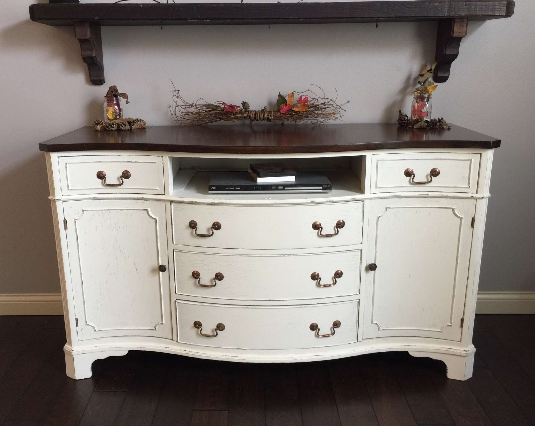 Awesome Distressed Buffet Sideboard – Bjdgjy Within Distressed Buffet Sideboards (View 14 of 20)