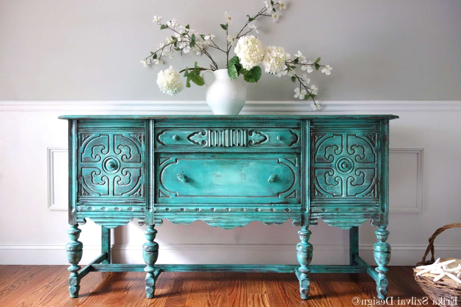 Featured Photo of Turquoise Sideboards