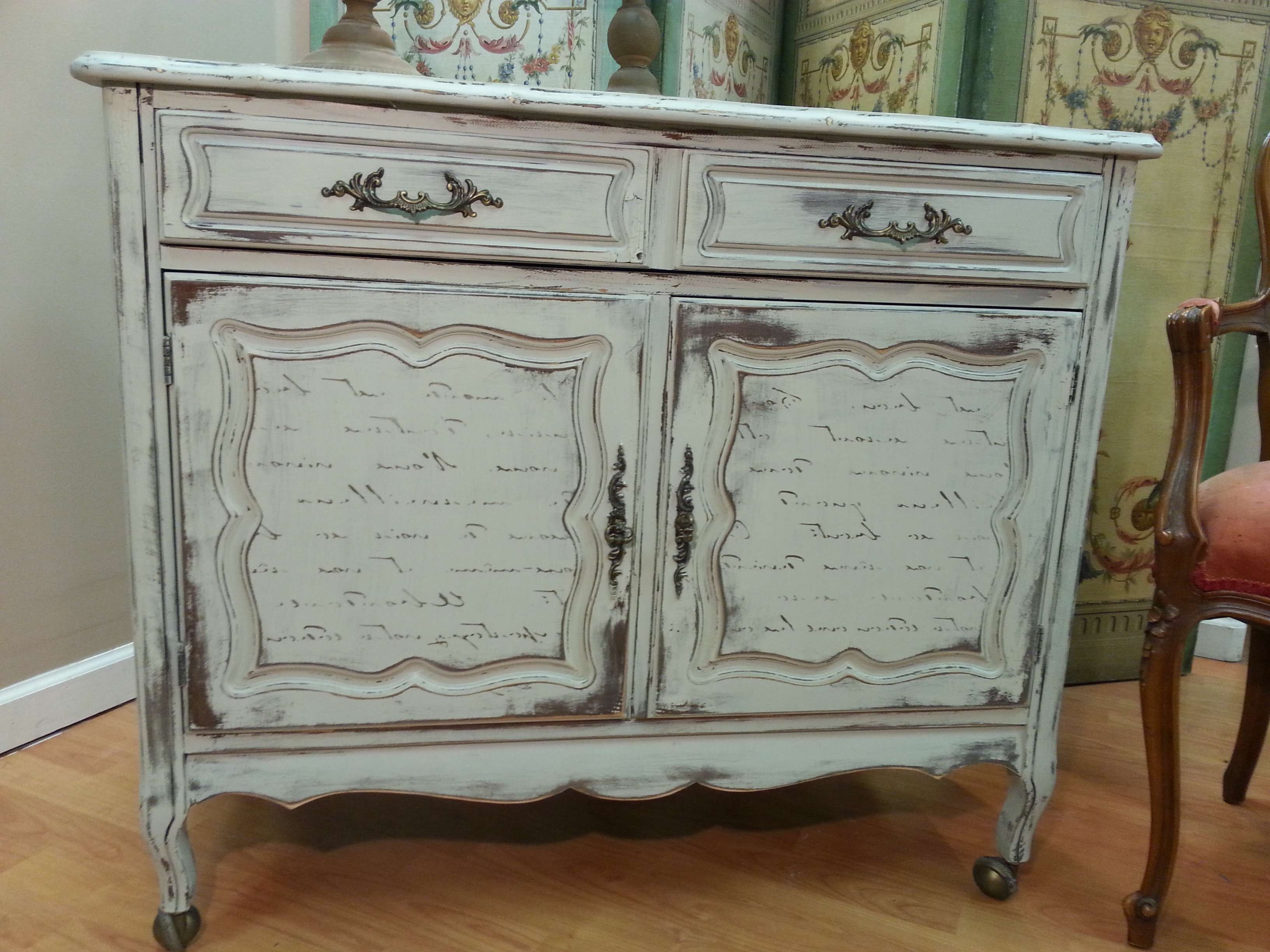 Awesome Shabby Chic Sideboard – Bjdgjy Pertaining To Shabby Chic Sideboards (View 14 of 20)