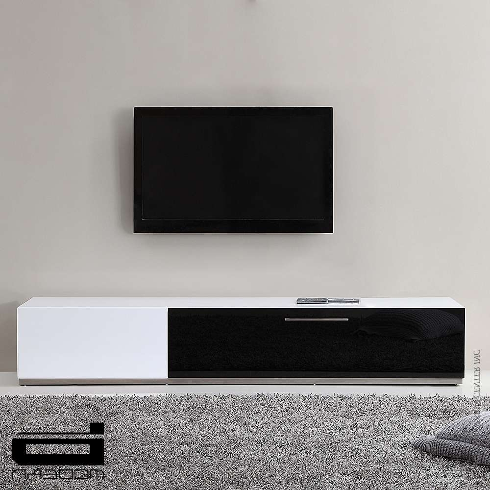 B Modern Producer, White & Tv Stands | Metropolitandecor Pertaining To High Gloss White Tv Cabinets (View 2 of 20)