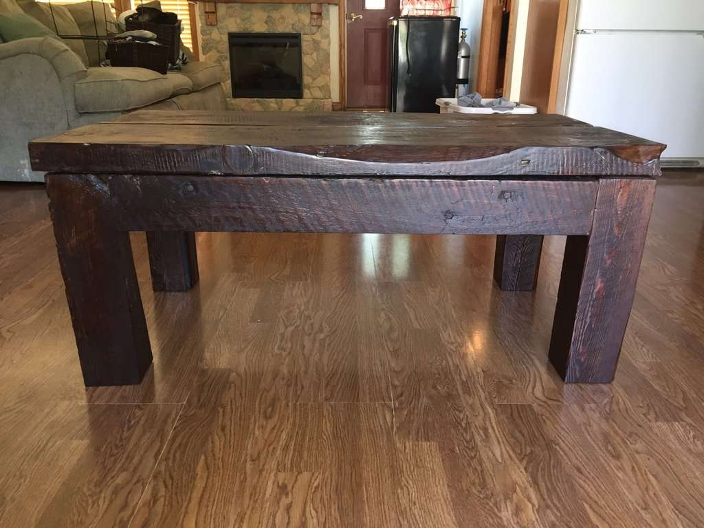 Barn Wood Coffee Table – Writehookstudio In Most Recent Rustic Barnwood Coffee Tables (View 1 of 20)