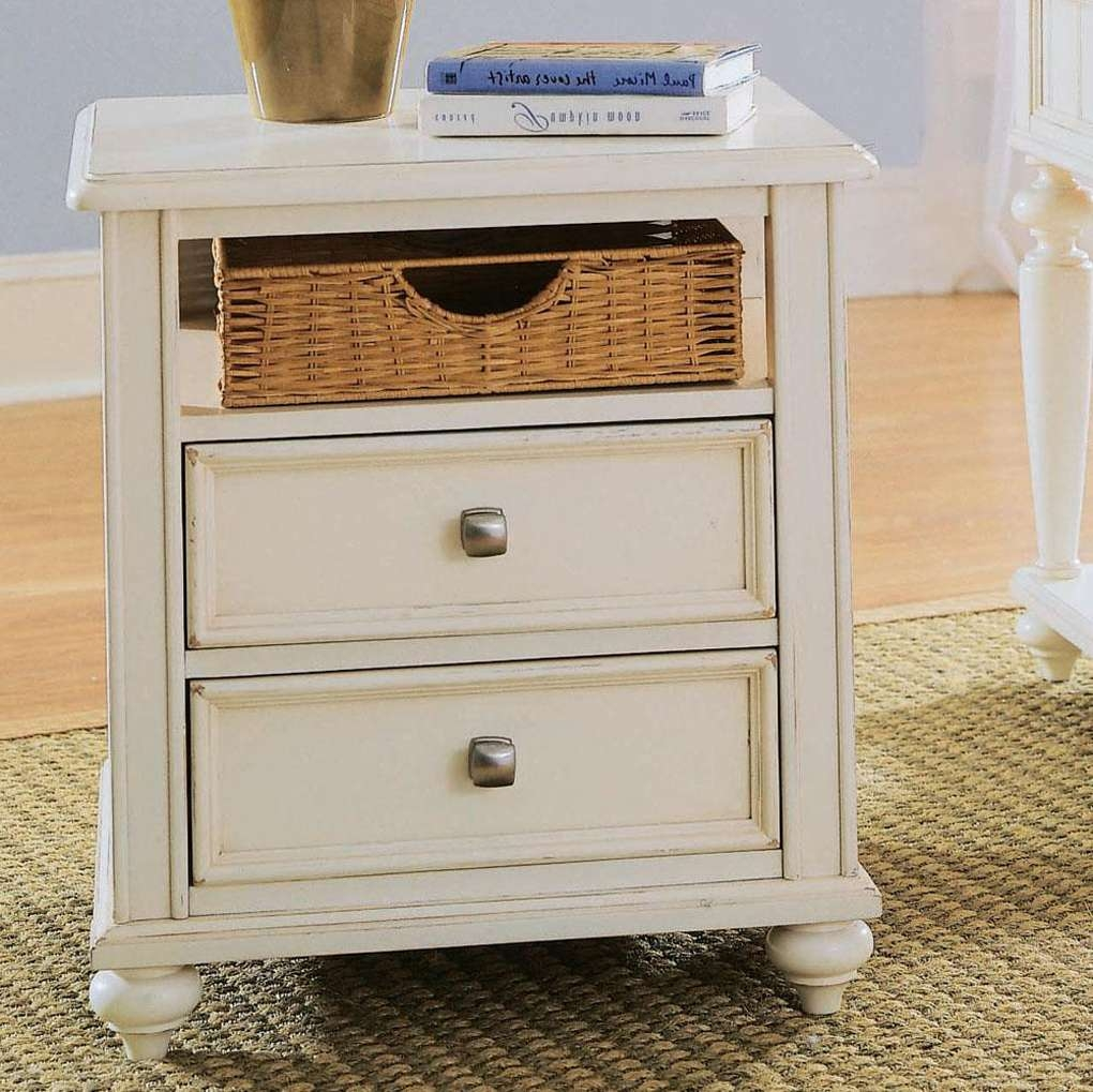 Basket Storage Table – Nurani Pertaining To Most Recent White Coffee Tables With Baskets (View 1 of 20)