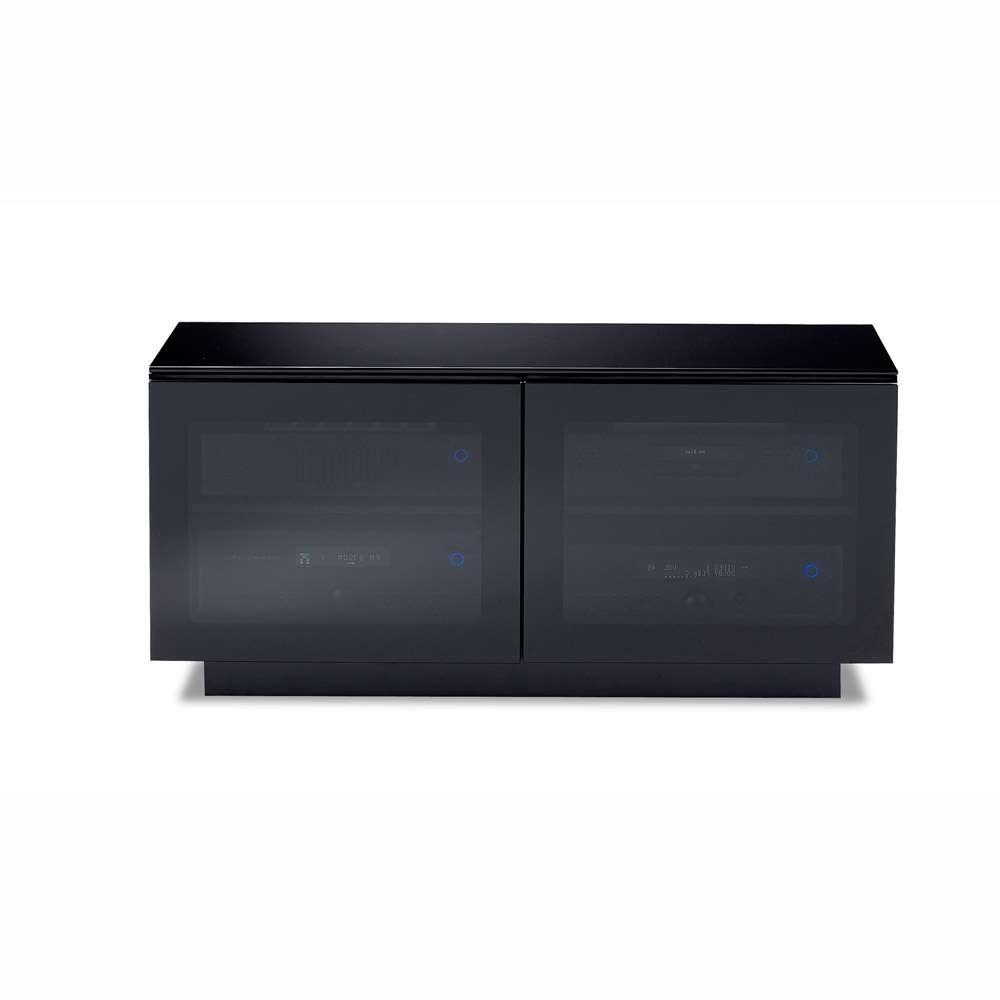 Bdi Mirage 8224 Black Small Tv Cabinet – Bdi – Audiovisual Online In Small Tv Cabinets (View 15 of 20)