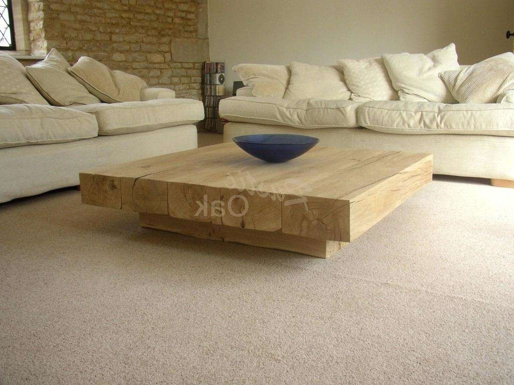 Beautiful Chunky Wood Table Ideas Solid Wood Dining Table For Best And Newest Chunky Oak Coffee Tables (View 1 of 20)