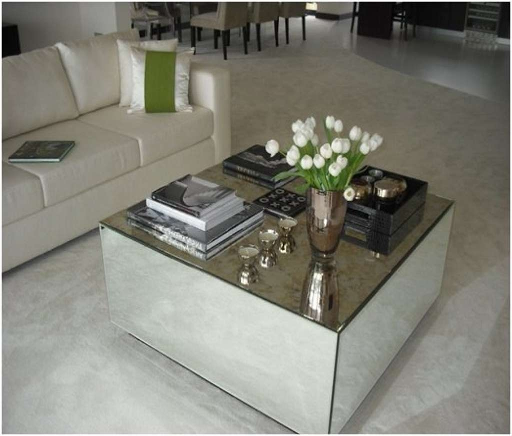 Beautiful Mirrored Coffee Table – Borghese Mirrored Coffee Table Pertaining To 2017 Coffee Tables Mirrored (View 1 of 20)