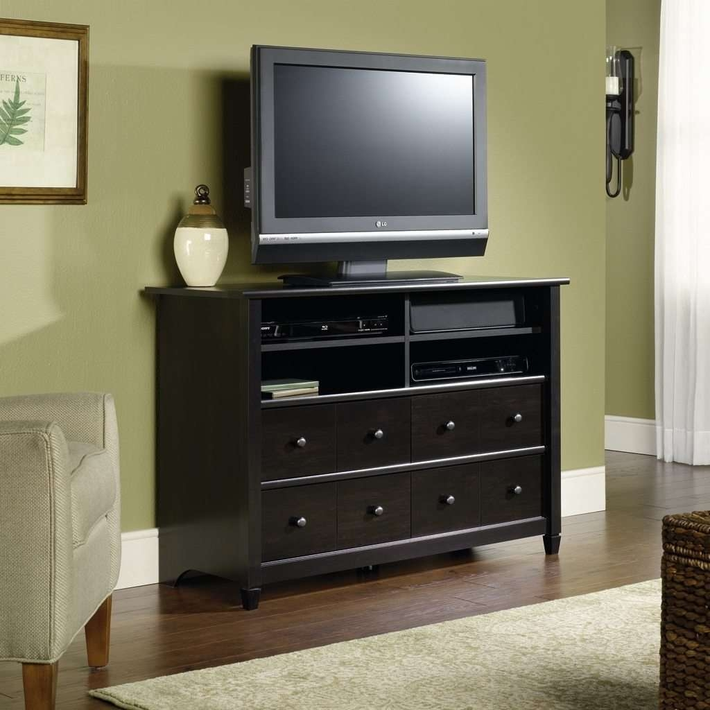 Bedroom Tv Stands – Home Design Ideas With Tall Black Tv Cabinets (View 6 of 20)