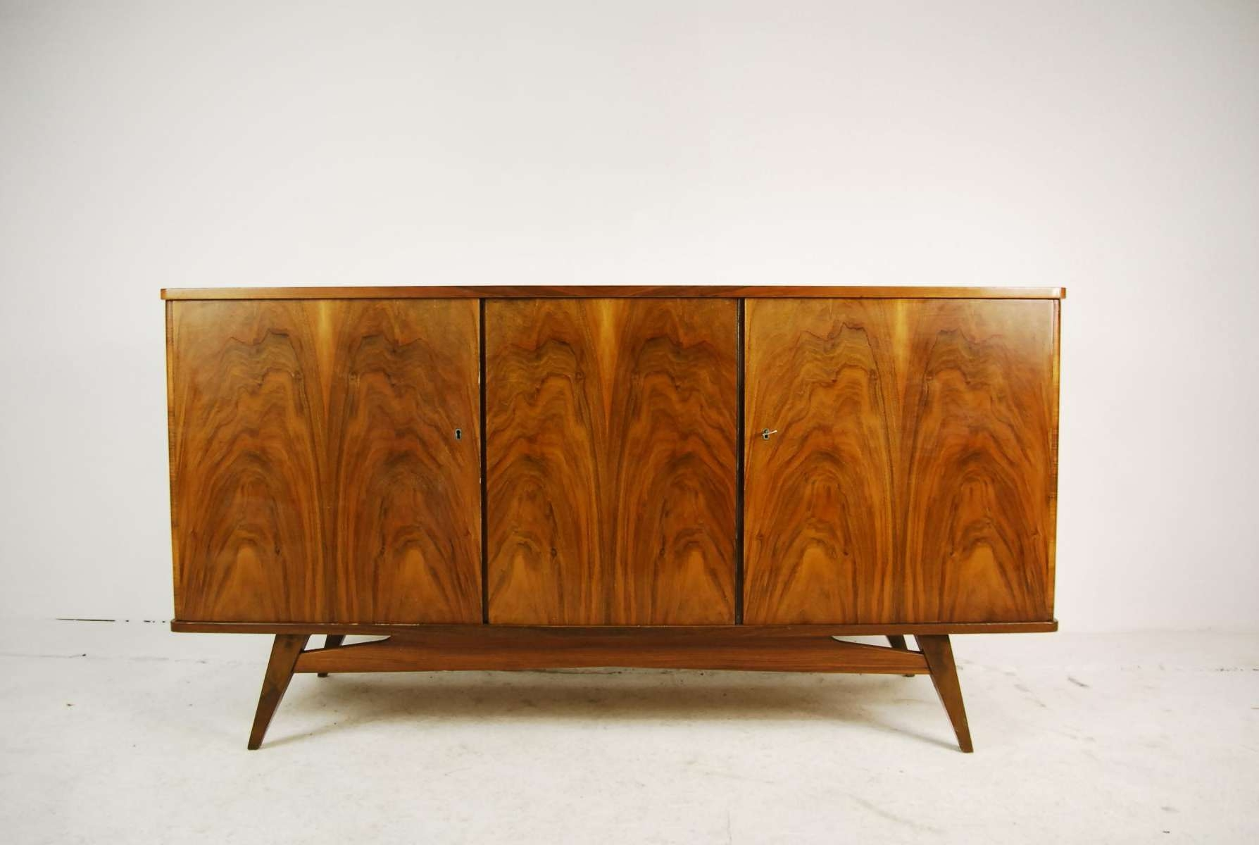 Beech Sideboard From Lodz Furniture Factory, 1960S For Sale At Pamono Inside Beech Sideboards (View 1 of 20)