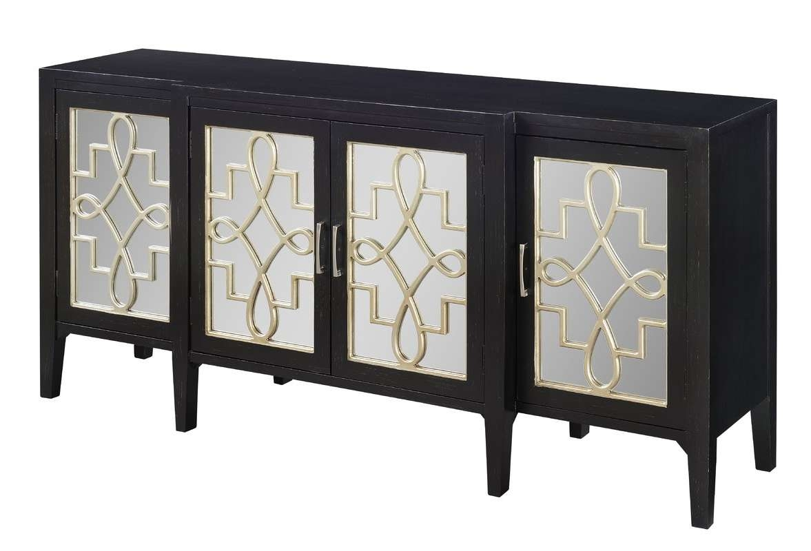 Beesley Sideboard & Reviews | Allmodern With Regard To Black And Silver Sideboards (View 20 of 20)
