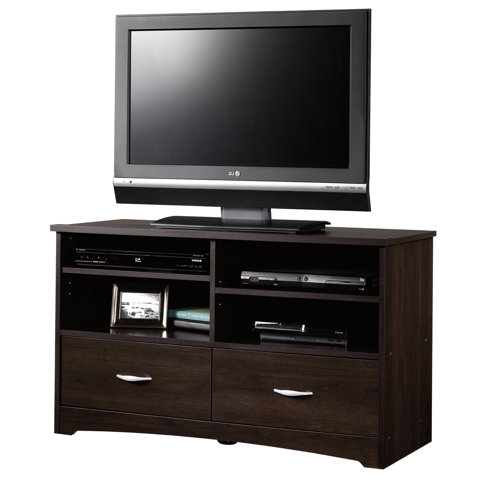 Beginnings | Tv Stand | 413045 | Sauder Intended For Tv Cabinets With Drawers (View 3 of 20)