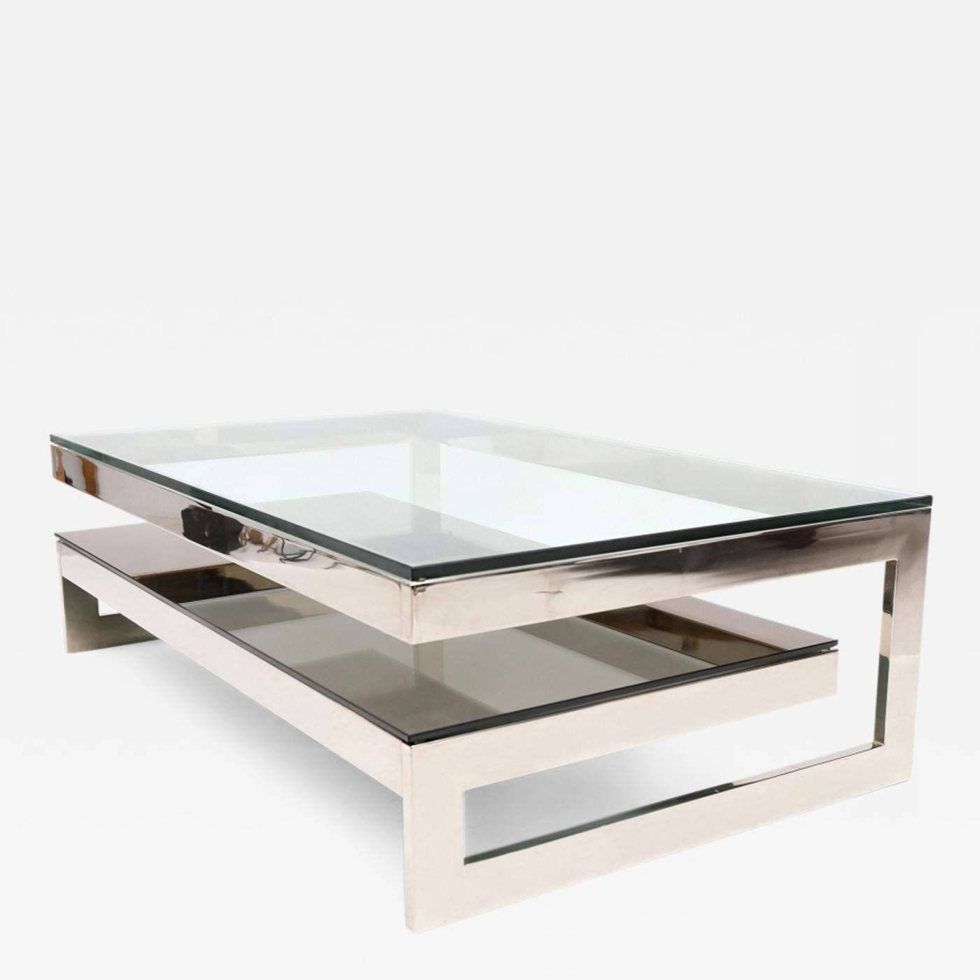Belgo Chrome – Chrome G Coffee Table Throughout Well Liked Chrome Coffee Tables (View 6 of 20)