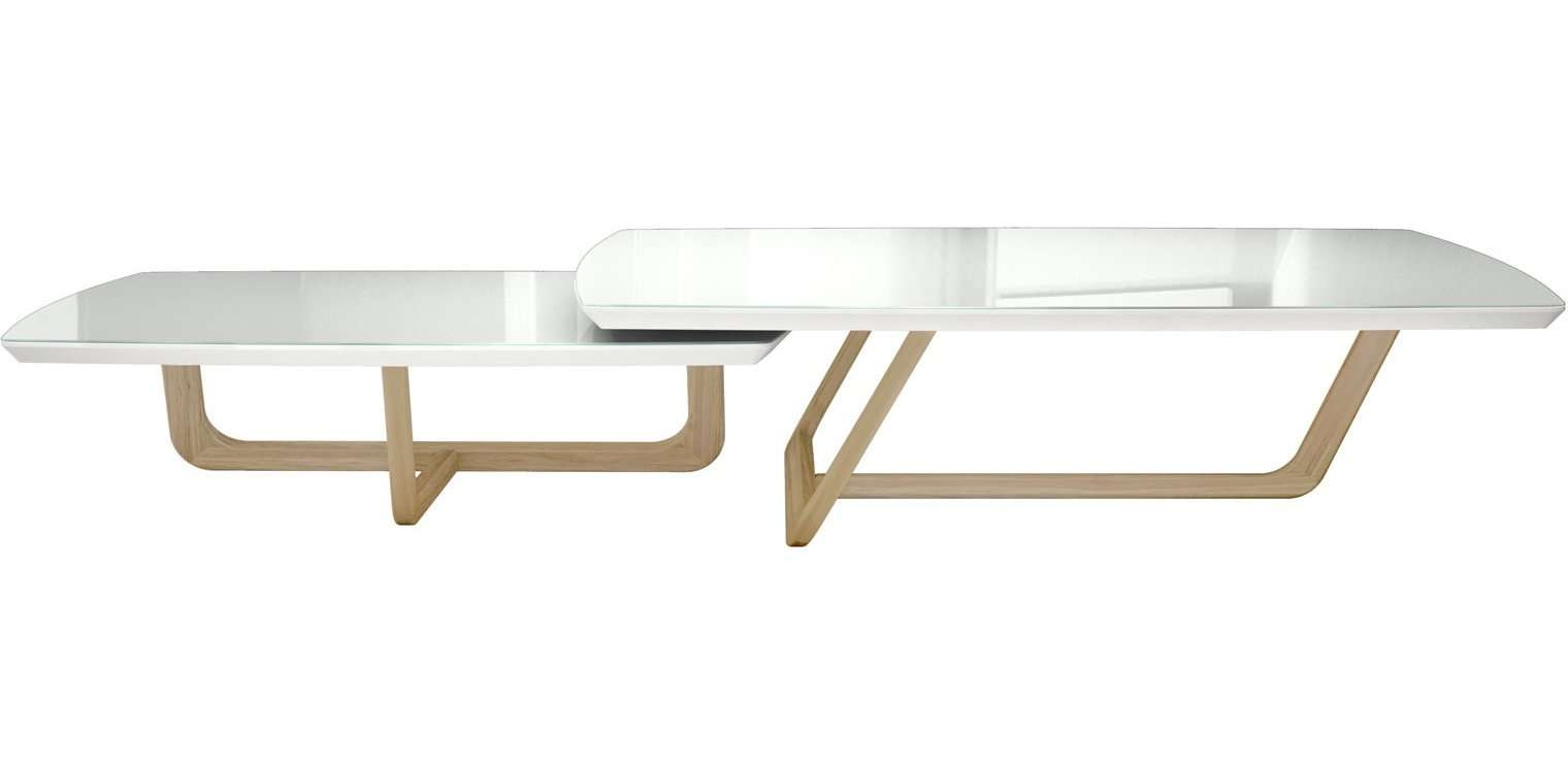Belvedere 2 Piece Coffee Table Set & Reviews (View 3 of 20)