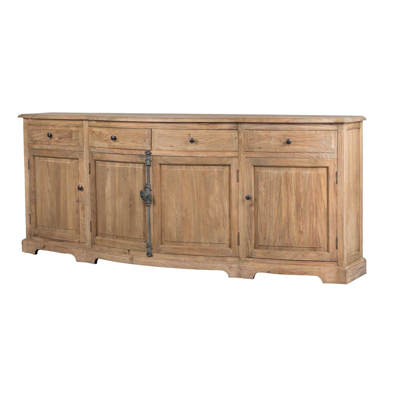 Benjamin Reclaimed Wood Natural 87 Inch Sideboardkosas Home Regarding Reclaimed Wood Sideboards (View 20 of 20)