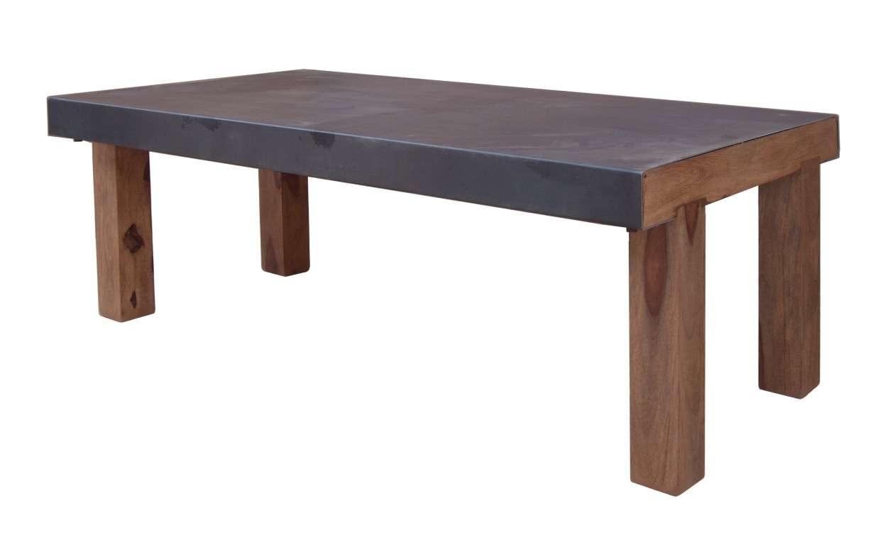 Bespoke Metal Sheet Coffee Table Folding Legs – Umaid Craftorium In Widely Used Bespoke Coffee Tables (View 6 of 20)